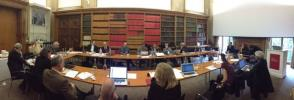 Panoramic view of the DCO Executive meeting in London