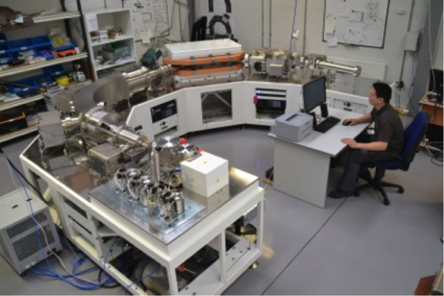 New mass spectrometer developed by Edward Young (UCLA)