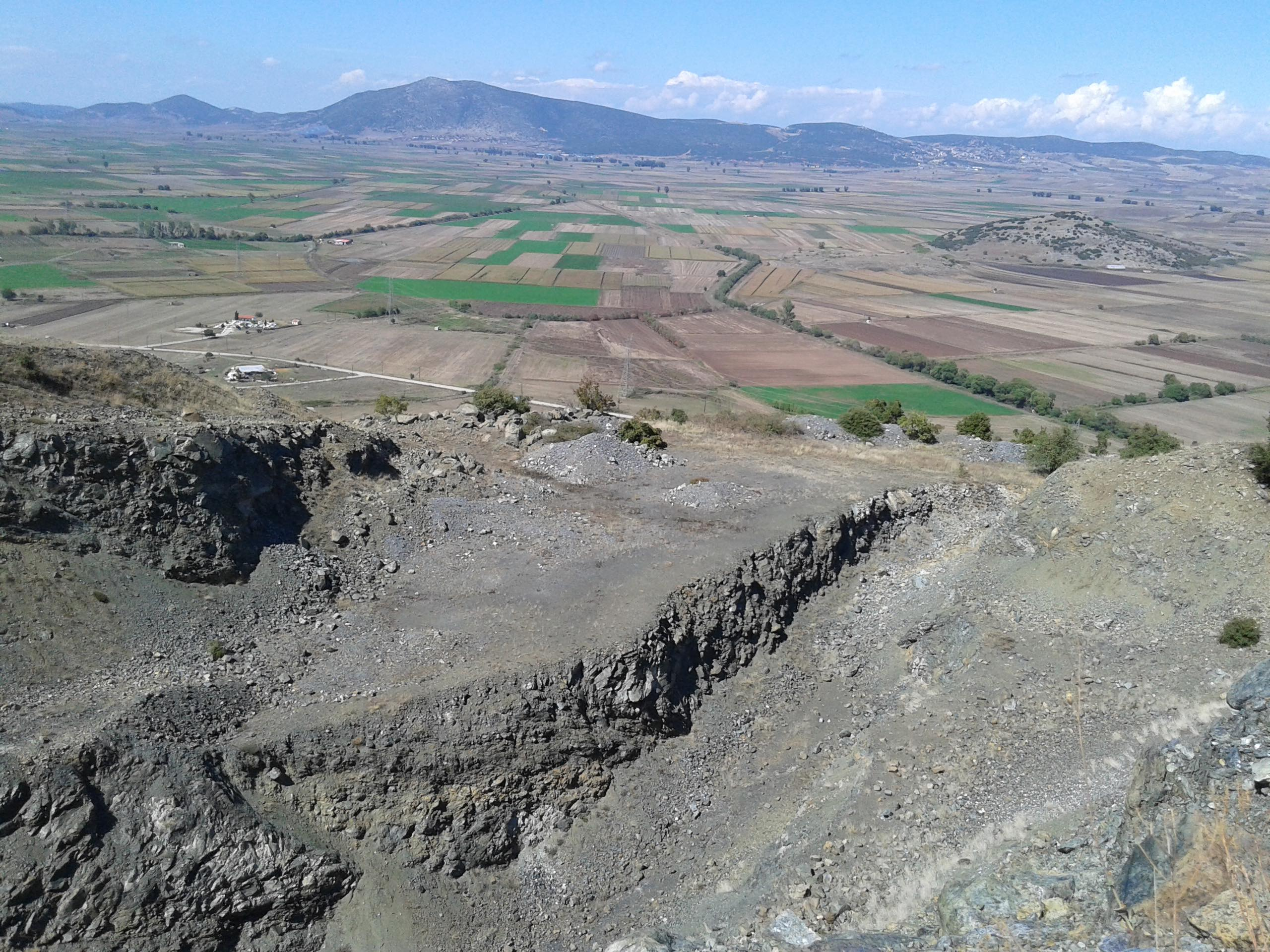 Ophiolite in Greece