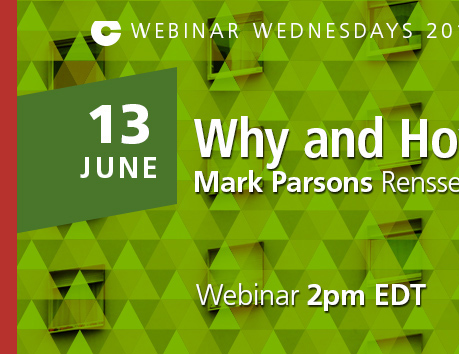 Webinar Wednesday 13 June 2018