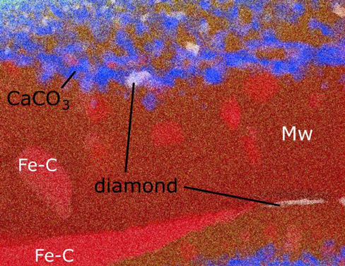 arth's Core-Mantle Boundary May Be Decorated in Marble and Diamonds