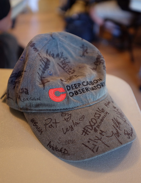 DCOSS16 signed hat