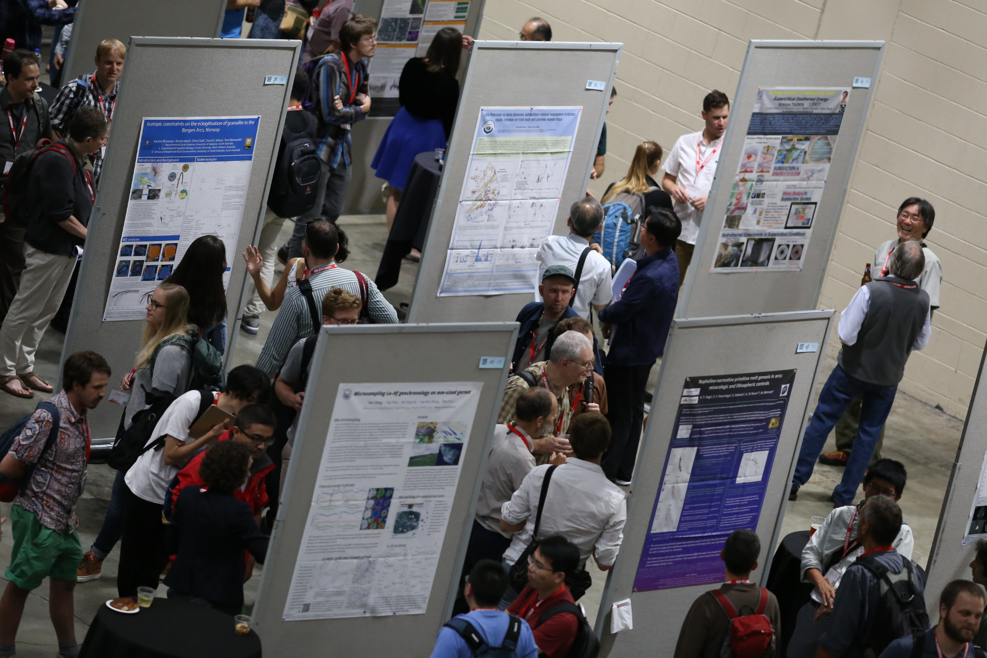 Poster Session at Goldschmidt 2018