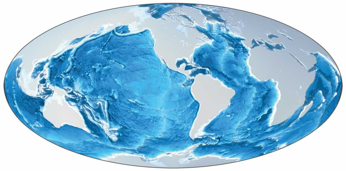 Image of Earth's seafloor courtesy of MARUM.