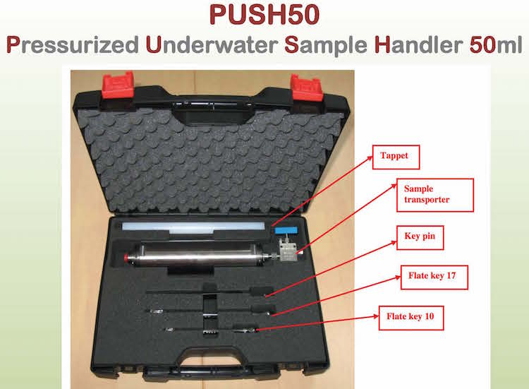 push50 components in carrying case